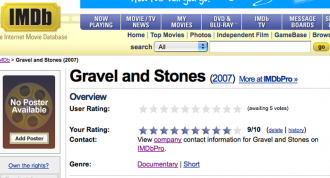 Gravel and Stones at IMDB